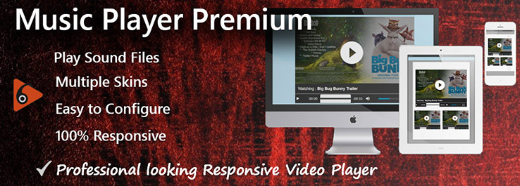 Joomla Music Player Premium
