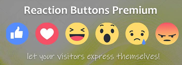 Joomla Reaction Buttons