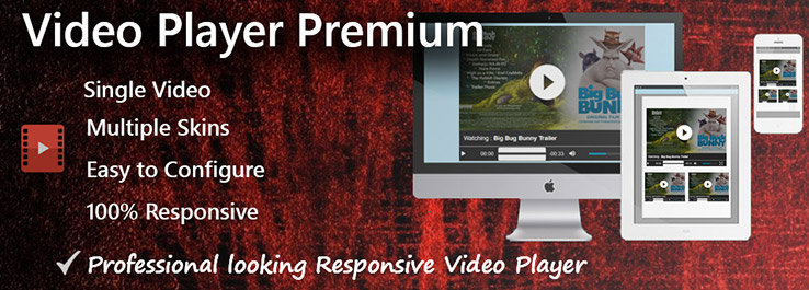 Joomla Video Player Premium