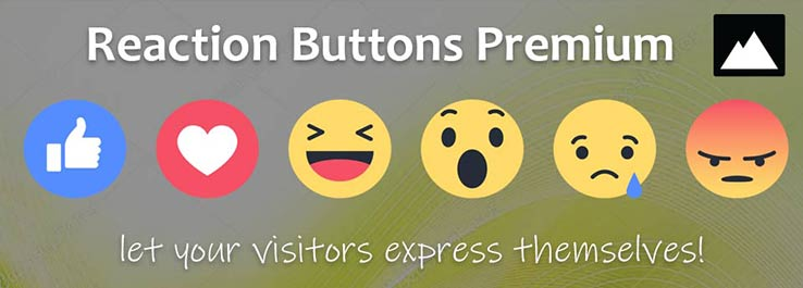 Joomla K2 Reaction Buttons